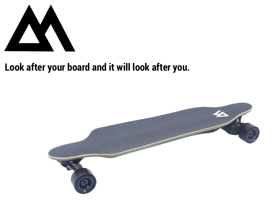 Looking after your Electric Longboard