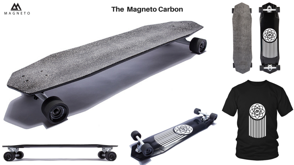 Carbon Fiber Longboard by Magneto